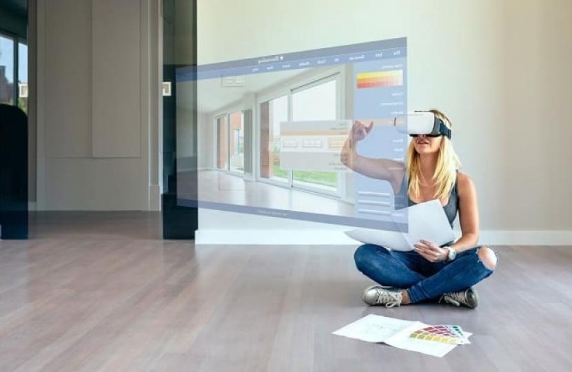 Immobilienverkauf, 360 Grad-Tour