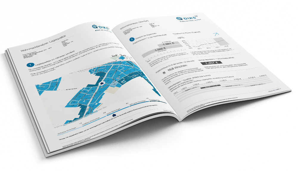 Immobilienwertermittlung - Brochure
