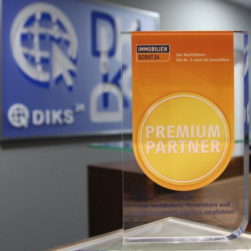 DIKS GmbH ist von Immerscout24 ausgezeichnet