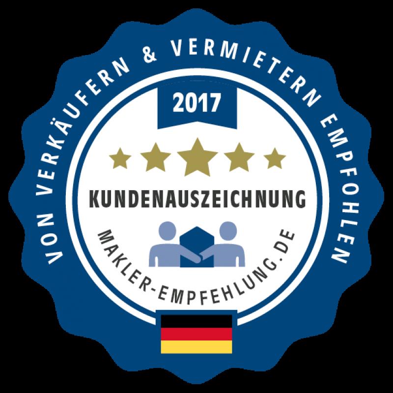 DIKS GmbH ist von Immobilienmakler-Empfehlung ausgezeichnet